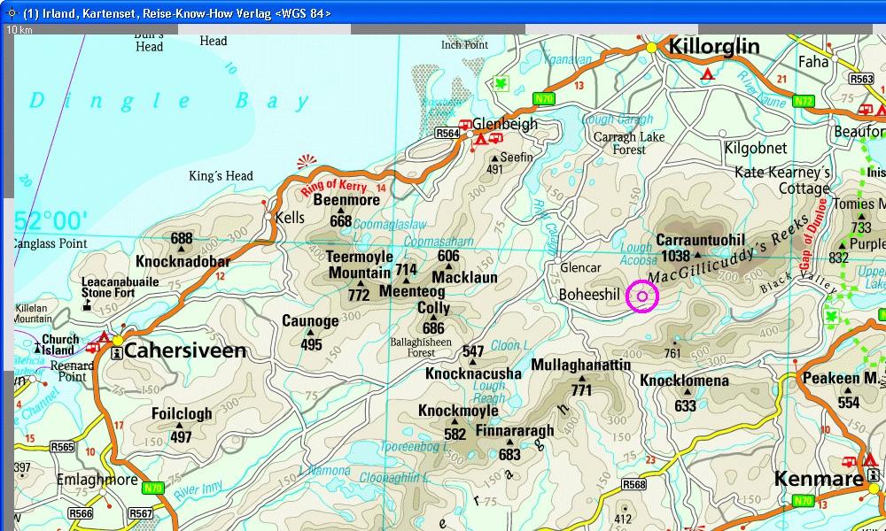 North Europe with Iceland, Scandinavia, Ireland, map-set, Reise-Know ...