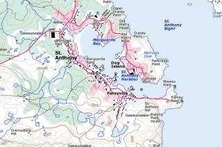 Map Of Canada Newfoundland.Newfoundland And Labrador Canada 1 50k Topo Qv Map And Dem 109 00