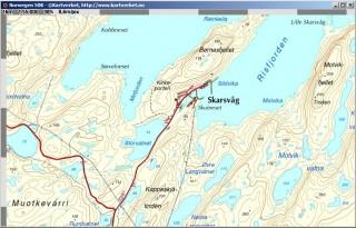 Norwegen, Topo 1:50K, 25m DEM, free download, 25,00 €